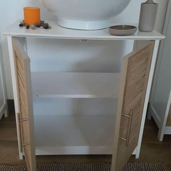 Evideco Freestanding Non Pedestal Under Sink Vanity