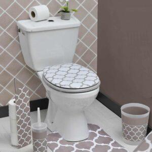 Evideco Escal Printed Bathroom Freestanding Toilet Tissue
