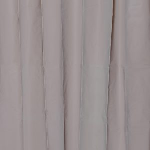 Solid Eva Bathroom Shower Curtain, Taupe
