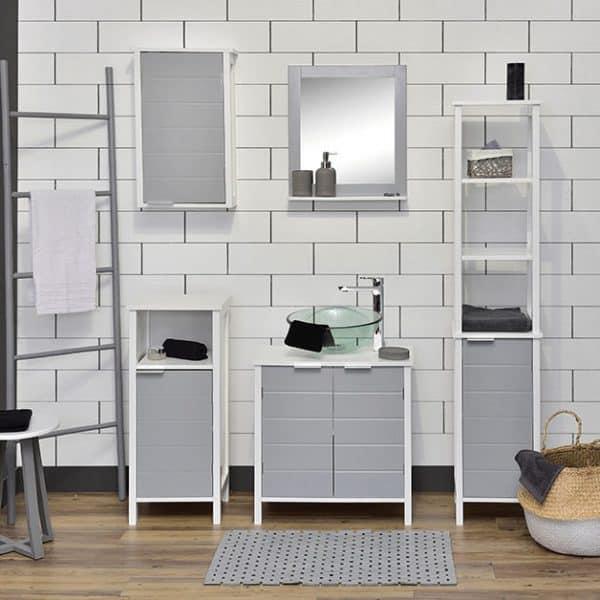 Super Evideco Freestanding Bathroom Floor Storage Cabinet 1 Door Interior Design Ideas Skatsoteloinfo