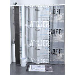 Atelier Loft Peva Bath Printed Shower Curtain, Multicolored