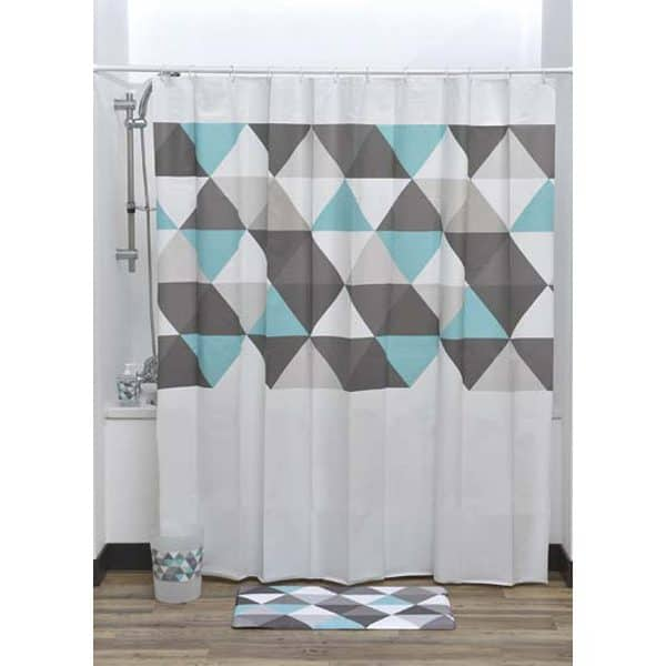 Nordik Collection Printed Peva Liner Shower Curtain Plastic 71x71 Inch