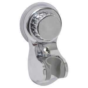Hand Held Shower Head Bracket Suction or to be Fixed chrome