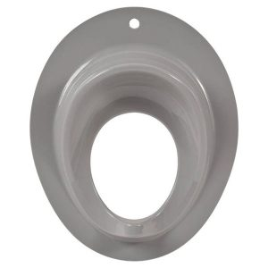 Potty Seat for Boys or Girls Toilet Training Toddler Secure Non-Slip Ring Urine Splash Guard Grey