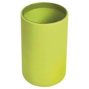 Vanity Bathroom Tumbler Soft Touch DESIGN Lime Green