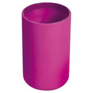 Vanity Bathroom Tumbler Soft Touch DESIGN Pink Fuchsia