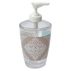 Faience Printed Bathroom Soap and Lotion Dispenser