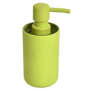 Bathroom Vanity Soap And Lotion Dispenser Soft Touch DESIGN Lime Green