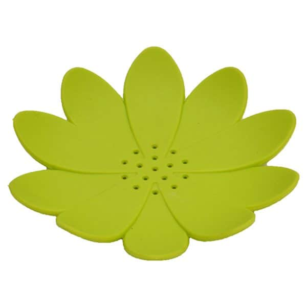 Bathroom Soap Dish Cup WATER LILY Solid Green