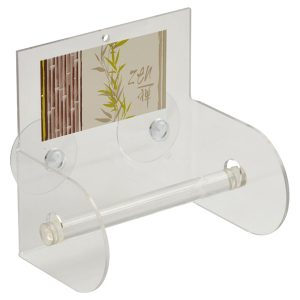 Jade Bathroom Toilet Tissue Paper One Roll Holder Suction Mounted
