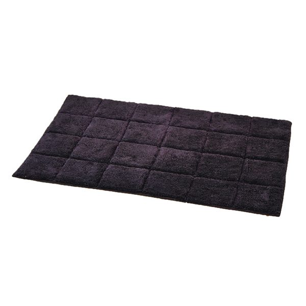 Prestige Cotton Bath Rug Andrea Chocolate Rectangular 20W X 31.5L