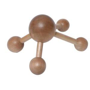 Spa Wellness Wooden Body Massager, Handheld