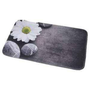 Printed Microfiber Mat Bathroom Rug ZEN GARDEN 29.5L x 17W