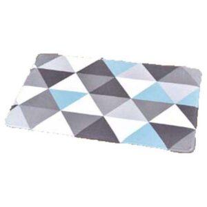 Collection Nordik Printed Microfiber Mat Bathroom Rug