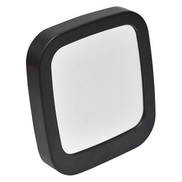 Make Up Self Standing Vanity Square Mirror Bathroom Countertop Black