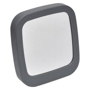 Make Up Self Standing Vanity Square Mirror Bathroom Countertop Grey