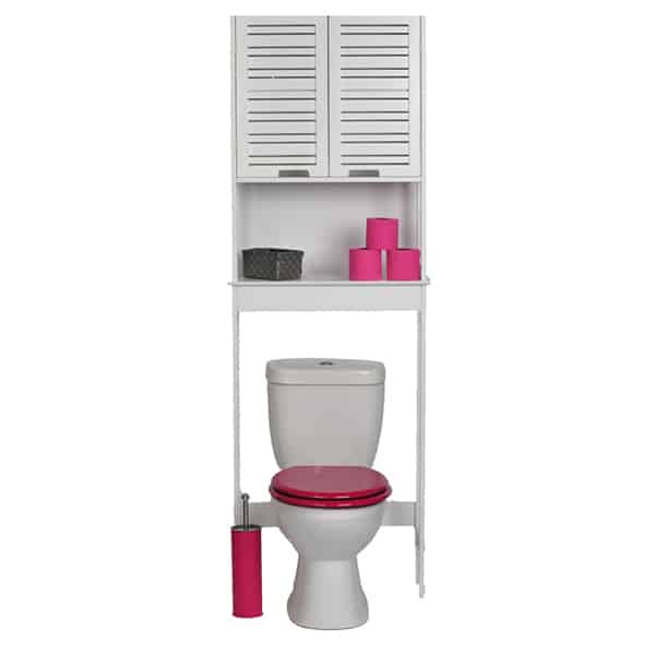 Furniture For Less Miami: Evideco Over The Toilet Space Saver Cabinet Bathroom