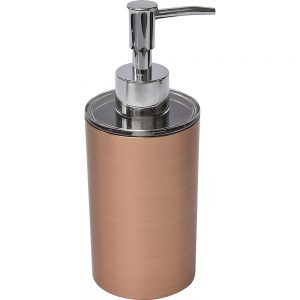 Bathroom Countertop Soap and Lotion Dispenser COPPER