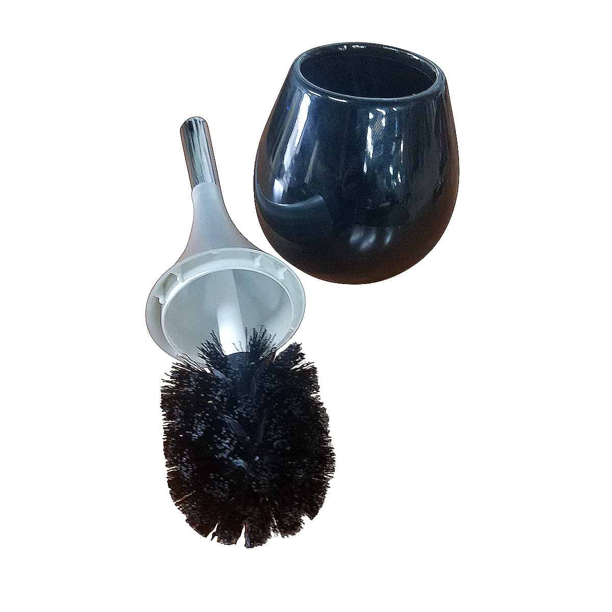 Evideco Bathroom Free Standing Toilet Bowl Brush And