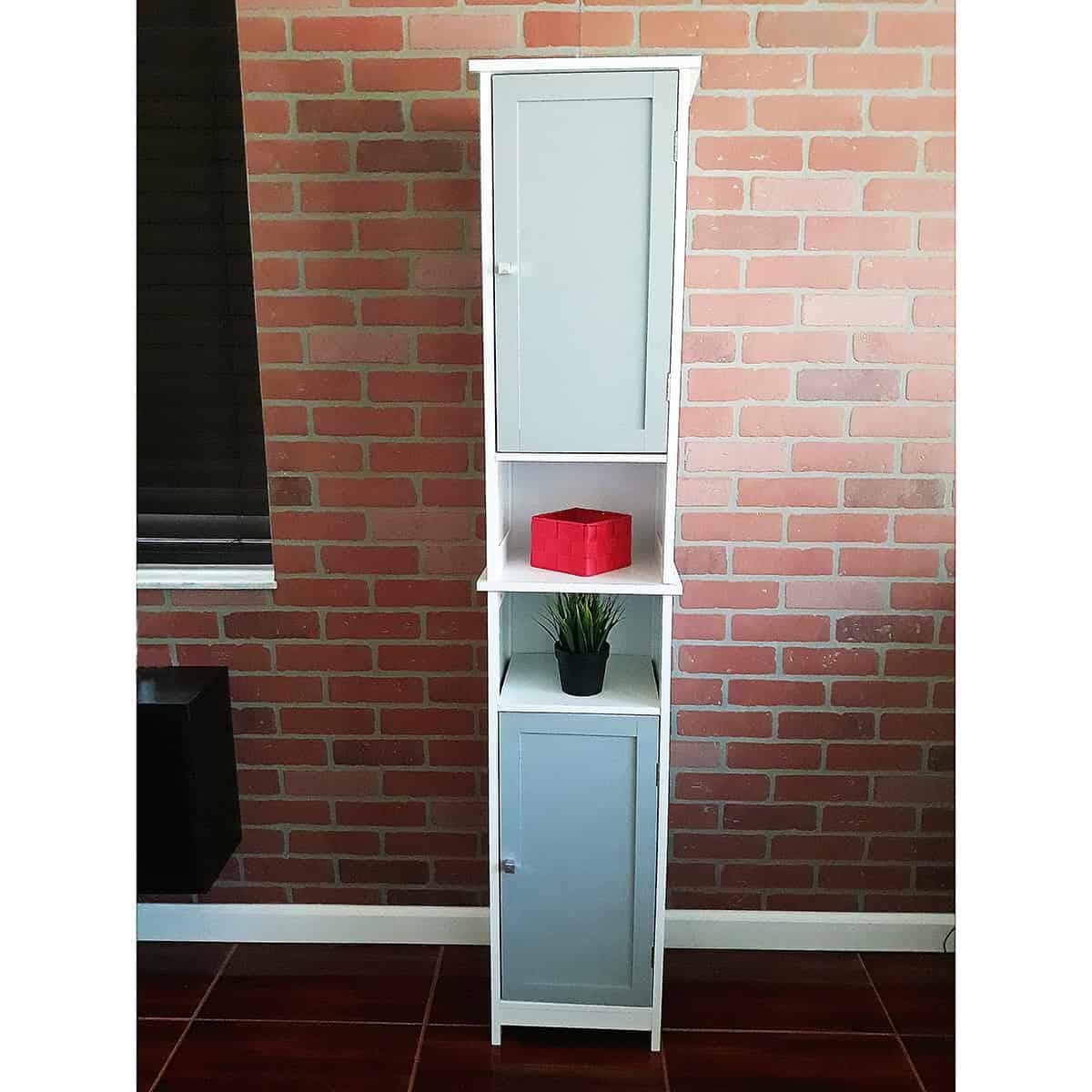 Evideco Custom Diy Bathroom Floor Linen Tower Cabinet 2