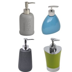 Soap & Lotion Dispensers Design & Solid