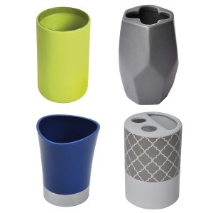 Tumblers & Toothbrush Holders Design & Solid