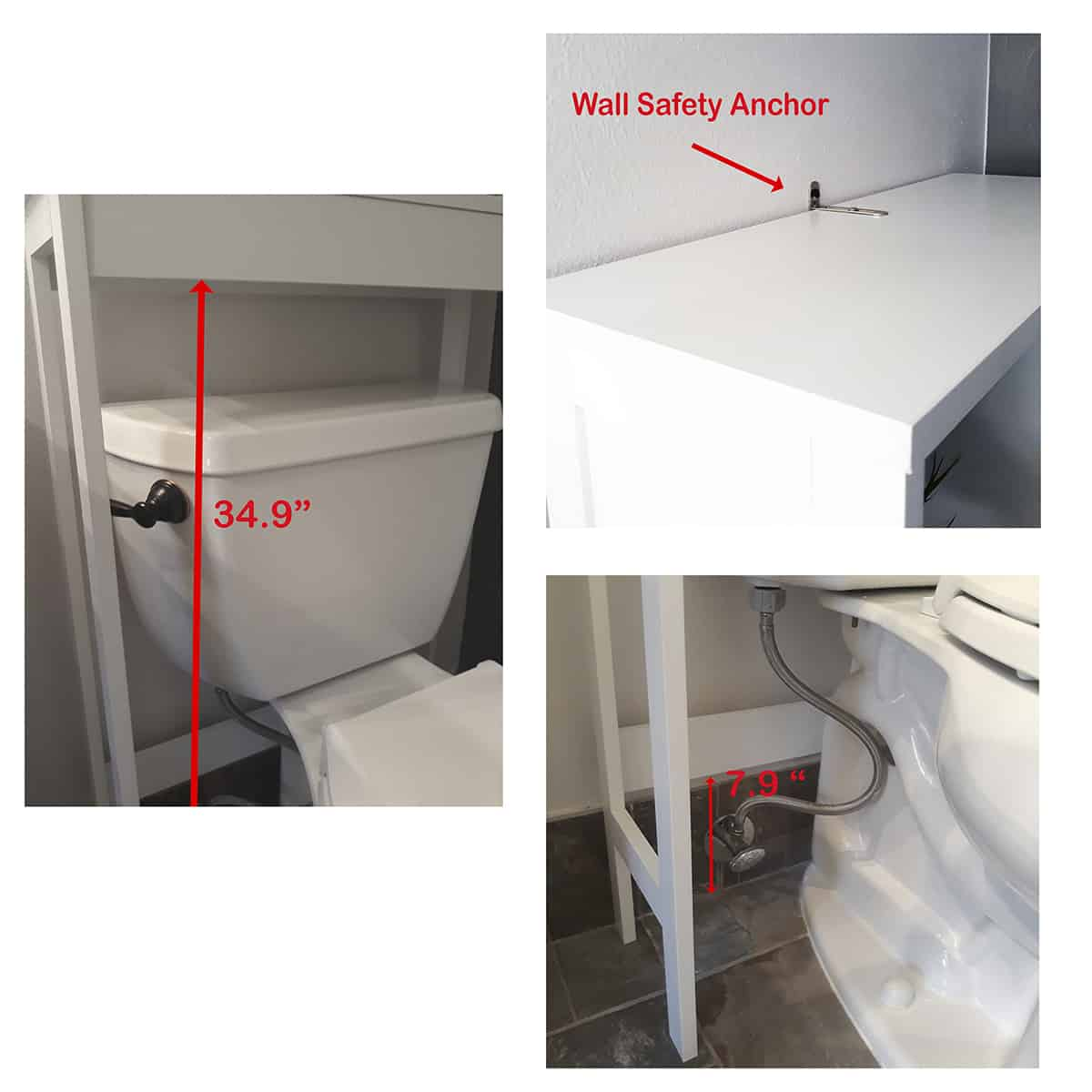 Custom Diy Bathroom Over The Toilet Space Saver Cabinet