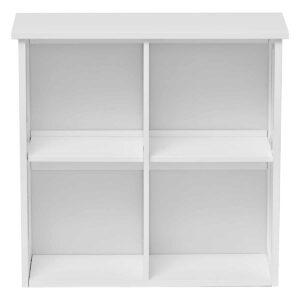 Custom DIY Bathroom Wall Mounted  Cabinet - 1 Door - White