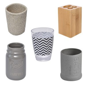Tumblers & Toothbrush Holders