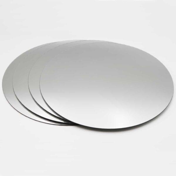 Big Decorative Wall Self Adhesive Shaped Mirrors - Set of 4