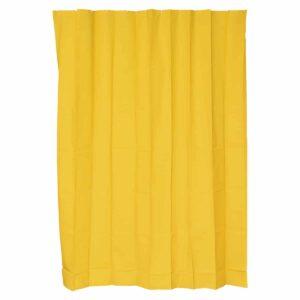 Solid Bath Shower Curtain 71x79 Sunshine