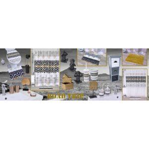 Satiny Microfiber Bath Mat Shaggy Loop 20 X 31 - Gold