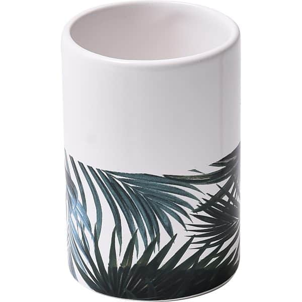 Tropical Collection Dolomite Bath Tumbler