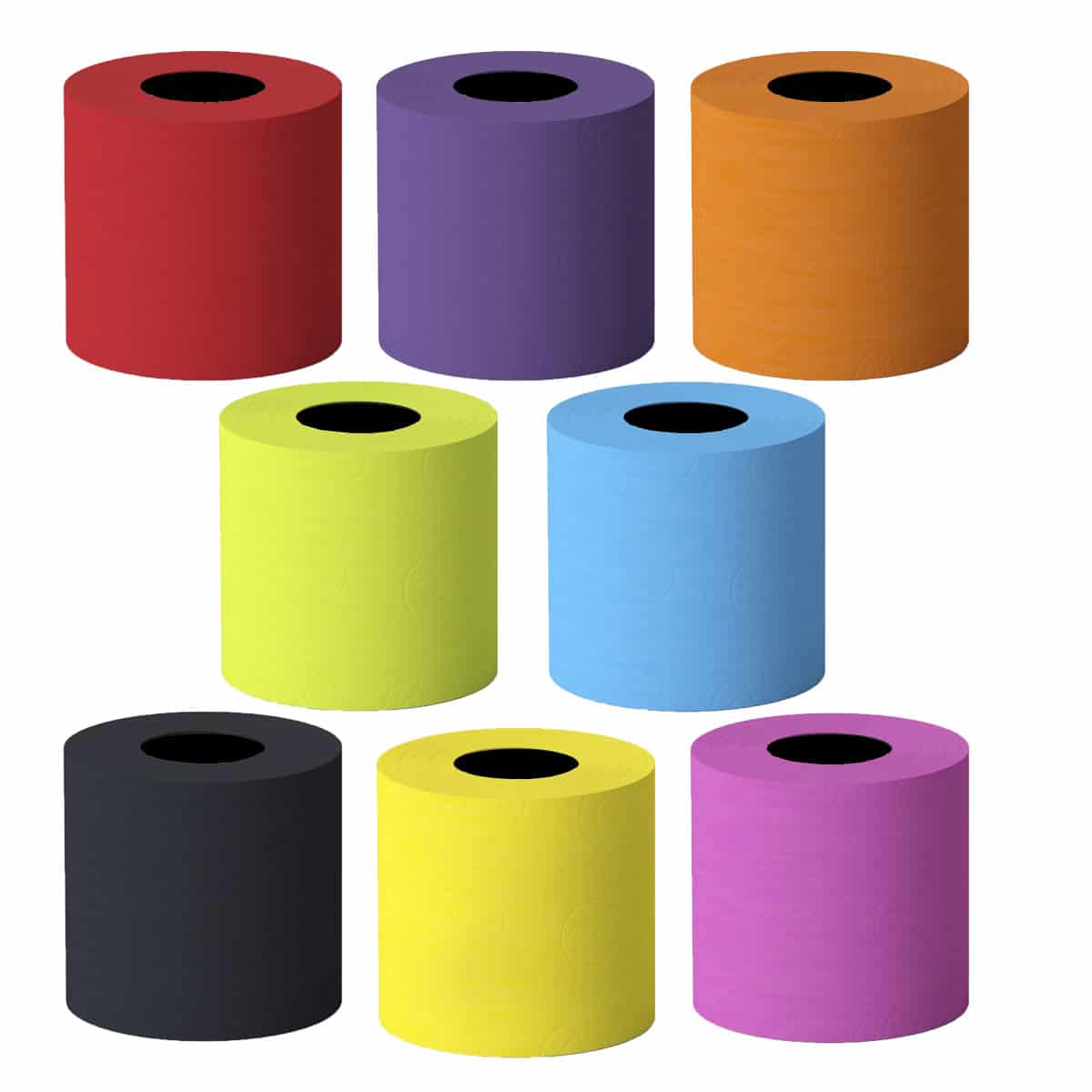 Luxury Scented Colored Toilet Paper 6
