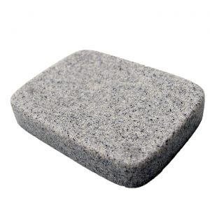 Granite Collection Dolomite Soap Dish Holder Gray-Shower-Sink-Bathroom
