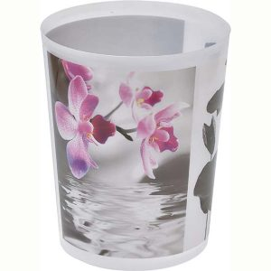 Hanae Printed Trash Can Waste Basket 4.5-liters-1.2-Gal