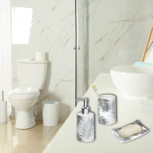 Lodge Collection Bath Accessory Set 3-Pieces
