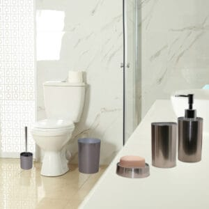 Noumea Collection Bath Accessories Set 5-Pieces