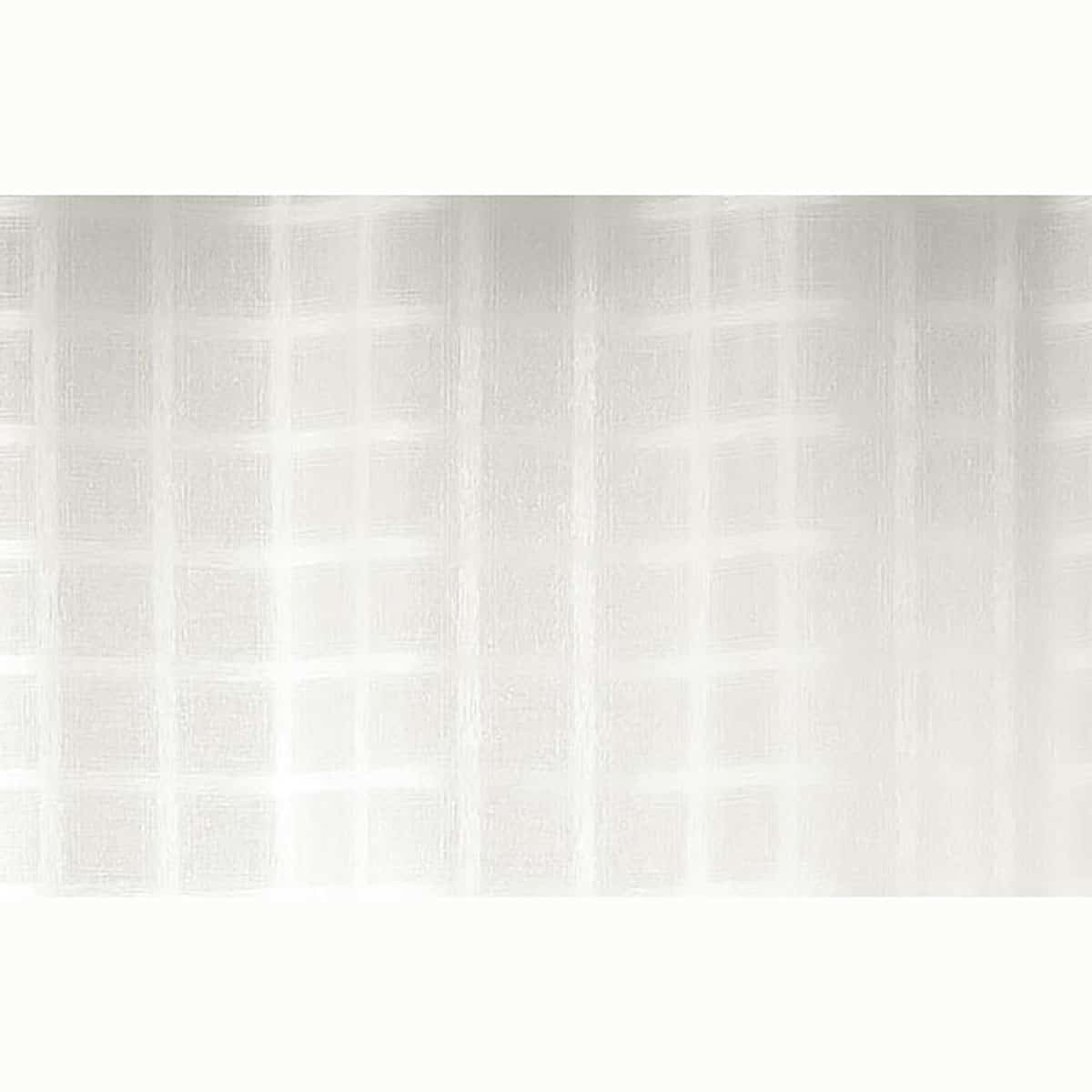 Printed Net Curtain Panel with Eyelets Sanded Voile Candide 55W x 95L Beige