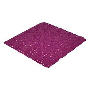 """Shower Mat Bubbles Purple 20""""L x 20""""W"""