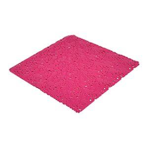 """Shower Mat Bubbles Pink 20""""L x 20""""W"""