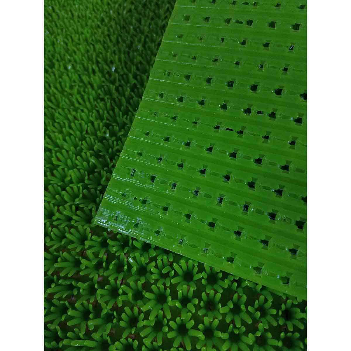 Outdoor Front Door Mat Pixie Artificial Grass Rug 24x16 Green